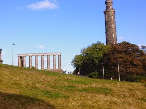 Calton Hill Monuments