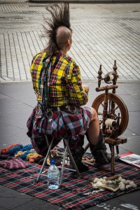 Edinburgh Fringe Festival by virtualwayfarer on Flickr