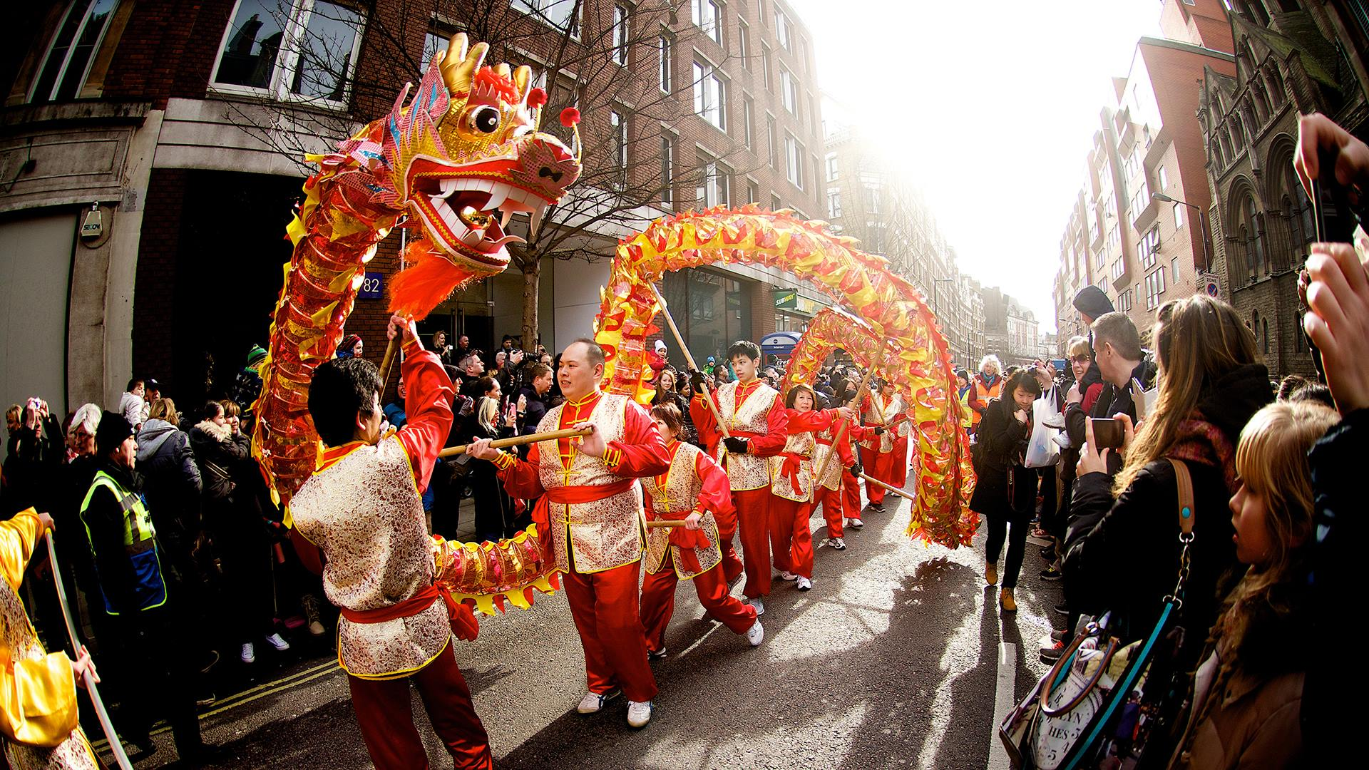 The chinese new year celebration in london this coming for Chinese new years parade